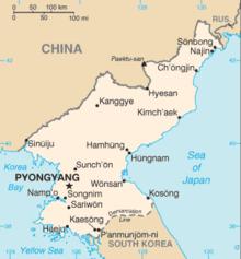 Description de l'image North Korea CIA WFB.png.