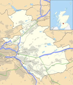 Coatbridge is located in North Lanarkshire