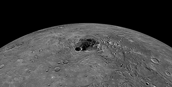 North pole of Mercury -- NASA