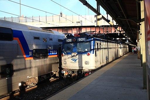 Northeast Regional enterning Baltimore Penn Station, 2014