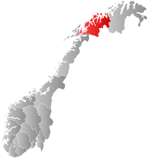 Norway Counties Troms Position.svg