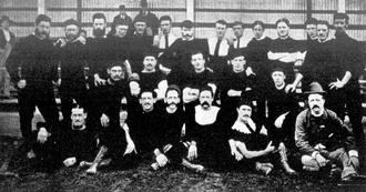 1878 SAFA season - Image: Norwood premiership team 1878