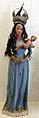 Nostra signora col bambin gesù, xix sec, dalla fazenda de piracicaba, san paolo.JPG