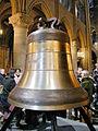 Notre-Dame de Paris - La nouvelle cloche Marcel 01.JPG
