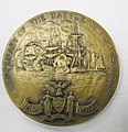 O7-252-A Medal, Commemorative, Battle of Plattsburgh, War of 1812, Reverse (4627445736).jpg