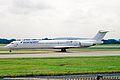OH-LMS MD-83 Finnair(all white-titles) MAN 06JUL02 (8237682580).jpg