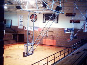 Ogden High School - Image: OHS Tiger Gym