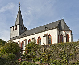 Oberdiebach Evangelische Kirche 20100923