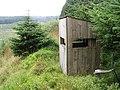 Observation hide in Craik Forest - geograph.org.uk - 535249.jpg