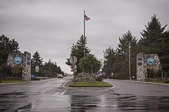 Ocean Shores, Washington - Ocean Shores main entrance