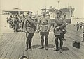 Officers awaiting embarkation on the troopship HORORATA, Melbourne (8114657553).jpg