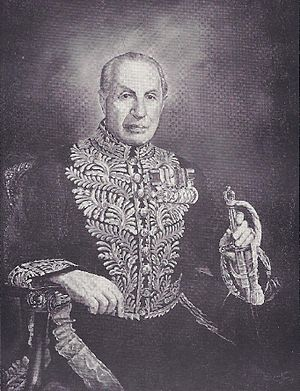 John Keiller MacKay - Image: Official Portrait of the 19th Lieutenant Governor of Ontario, John Keiller Mac Kay, by Moshe Matus