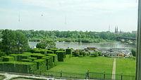 Garden near Royal Castle