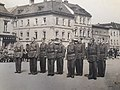 Okresní sjezd hasičstva ve Šternberku - 2. místo Sbor dobrovolných hasičů Dolní Libina (nástup).jpg