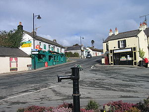 Kilcole, County Wicklow - old main street