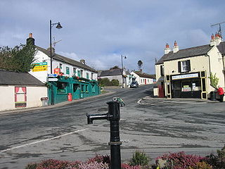 Kilcoole Village in Leinster, Ireland