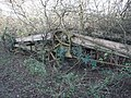 Old Farm Machinery lying by track - geograph.org.uk - 291633.jpg