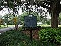 Old Fort Park historical marker (back).JPG