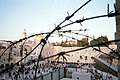 Old Jerusalem Western Wall barbed wire 2.JPG