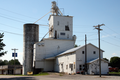 Old grain elevator, New Ross, Indiana.png