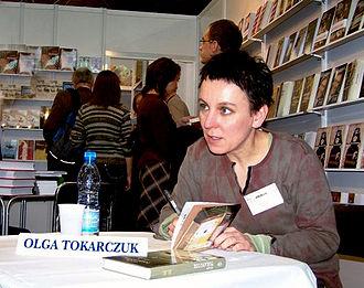 Olga Tokarczuk - Olga Tokarczuk, Kraków, Poland, 2005