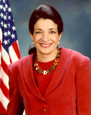 {{wOlympia Snowe}}, U.S. Senator.