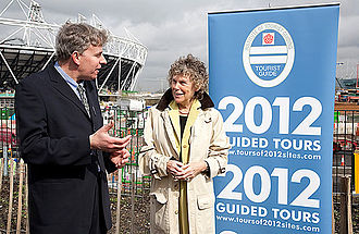 Kate Hoey - Hoey in 2010, at the launch of the Blue Badge 2012 Guided Tours for the 2012 Summer Olympics.
