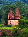 One of the many Temples of Orchha known as Purana Mandir (Old temple ) in Madhya Pradesh,India.jpg