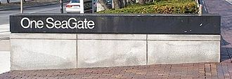 One SeaGate - One SeaGate driveway