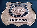 Ontario Correctional Services Issued Badge.JPG