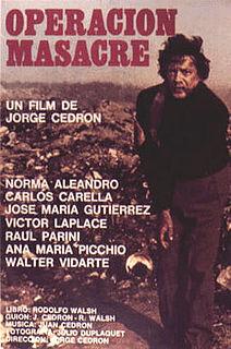 1973 film by Jorge Cedrón