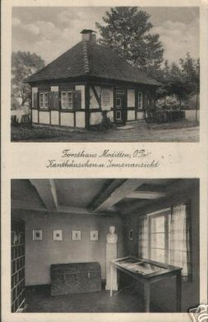 Kopskiekelwein - The Immanuel Kant House at the Forester's Lodge in Moditten. The tavern was well known for its specialty kopskiekelwein.