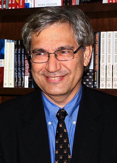 Picture of an author: Orhan Pamuk