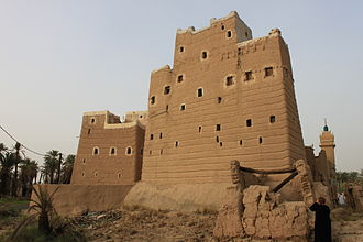 Najran - Traditional house in Najran