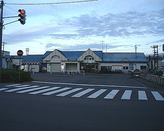 Oshamambe Station - Oshamambe Station in September 2002