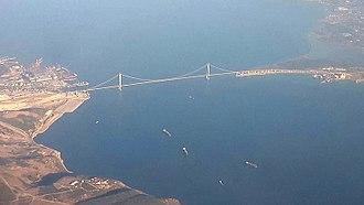 2016 in Turkey - View of Osman Gazi Bridge