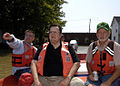 Ottawa OH 2007 Blanchard River Flood Coast Guard Congressman Gilmore3.jpg