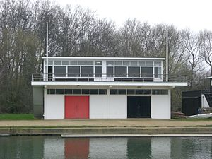 Exeter College Boat Club - Image: Oxford boathouse 5