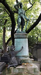 Frédéric Auguste Bartholdi: Tomb of Ignace Hoff
