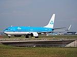 PH-BXB KLM Royal Dutch Airlines Boeing 737-8K2(WL) - cn 29132 taxiing, 25august2013 pic-2.JPG