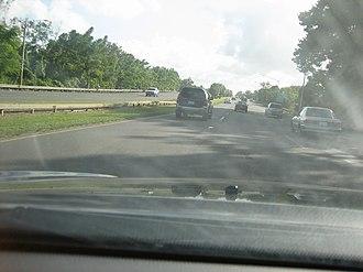 Puerto Rico Highway 5 - PR-5 in Bayamón.