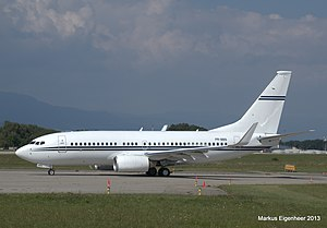 Safra Group - Boeing 737-700 Business Jet belonging to Safra Group