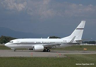Safra Group - Boeing 737-700 Business Jet belonging to Safra Group