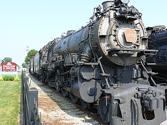 Pennsylvania Railroad class K4s - 3750 at the Railroad Museum of Pennsylvania
