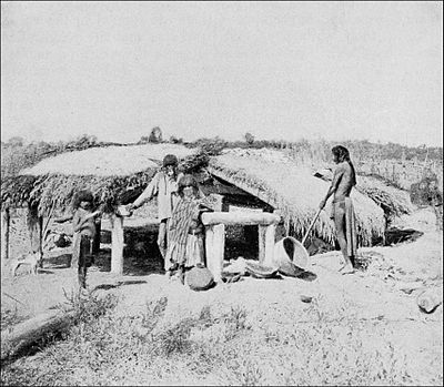 PSM V41 D821 House style built by mojave indians of arizona.jpg
