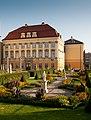 Pałac Królewski, ogród, Wrocław 2.jpg