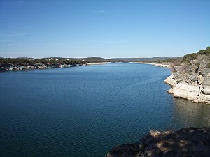 Hudson Bend, Texas - Lake Travis is located near Hudson Bend