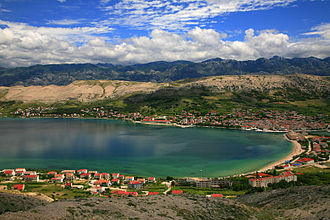 Pag (town) - View of the town