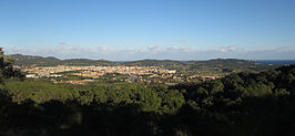 Vista general de Palafrugell