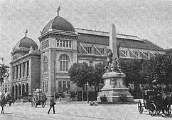 Palacio de Bellas Artes, Exposición Universal de Barcelona (1888)